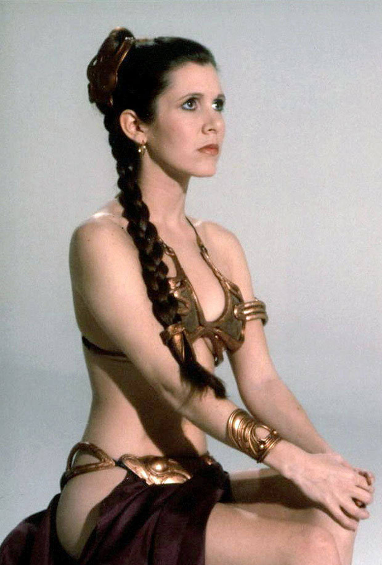 (not to archive) Princess Leia (Carrie Fisher)